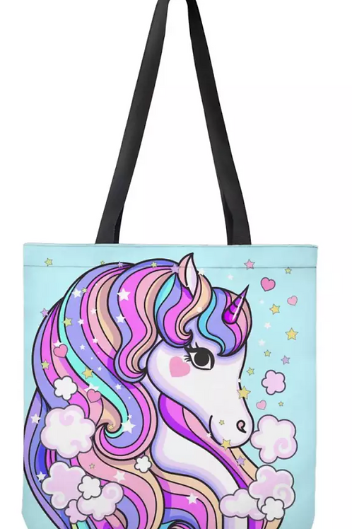 Unicorn Cloth Tote Bags