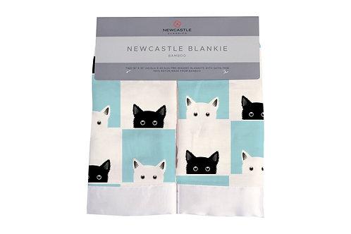 Peek-A-Boo Cats Newcastle Blankie