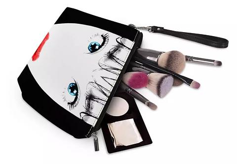 Illustrated Make Up Bag