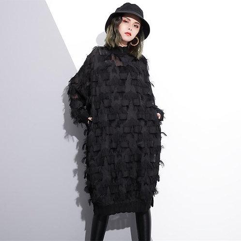 Yuko Loose Long Sleeve Dress