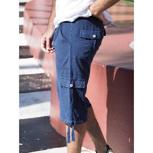 St. John Midnight Blue Shorts