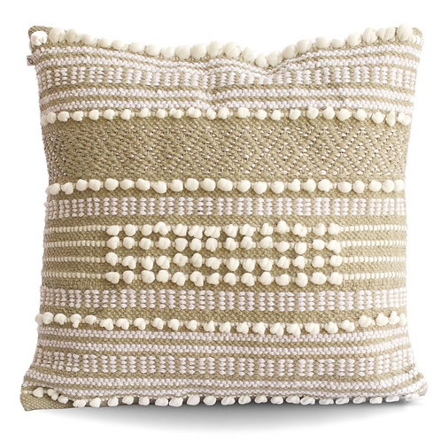 Moroccan Wedding Cotton Pillow Cover Only No Insert