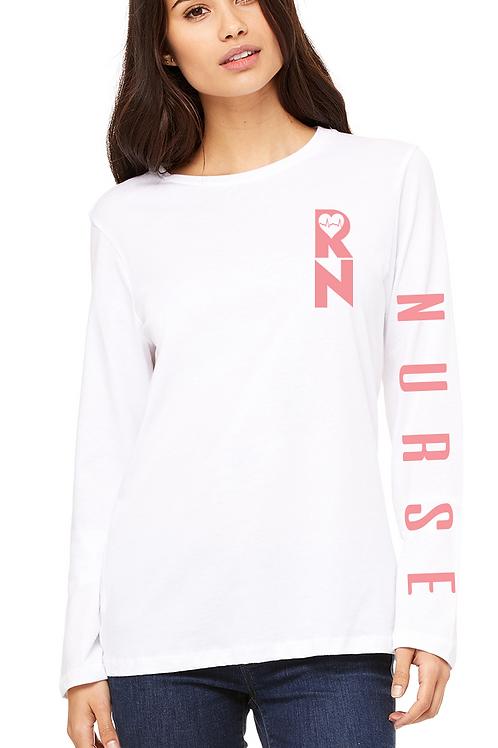 RN long sleeve women's soft tee