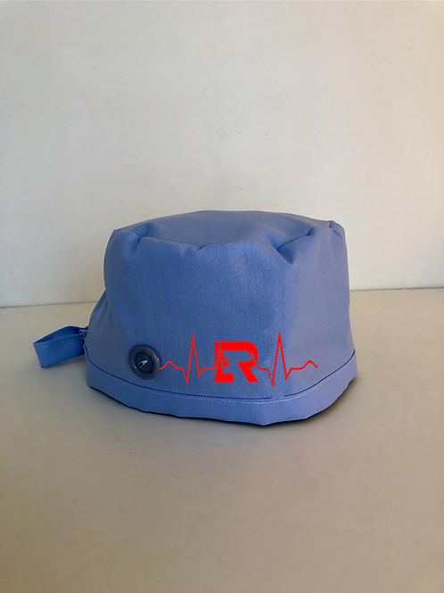 New ER light blue Scrub Cap