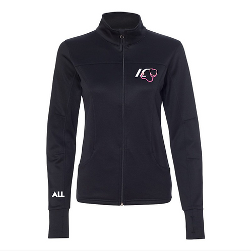 ICU women's collared jacket