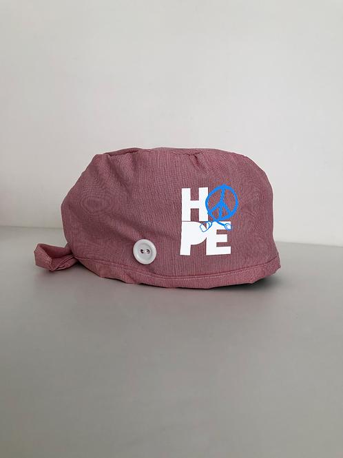 Hope scrub cap