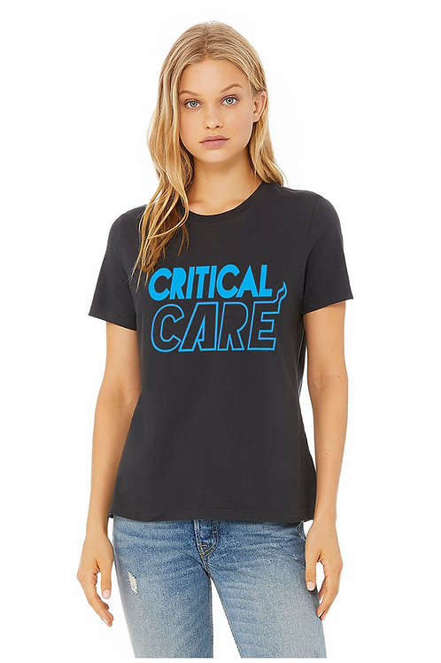 Women's Relaxed fit VICE ICU Navy Tee