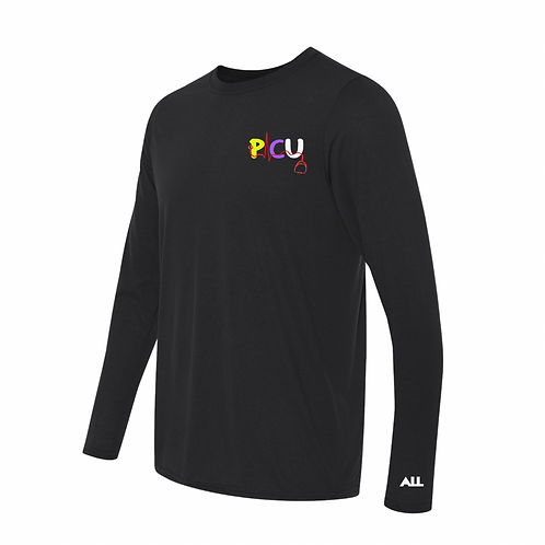 New Dri Fit PICU unisex long sleeve tee