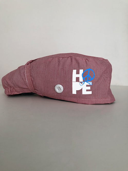 Hope ponytail scrub cap