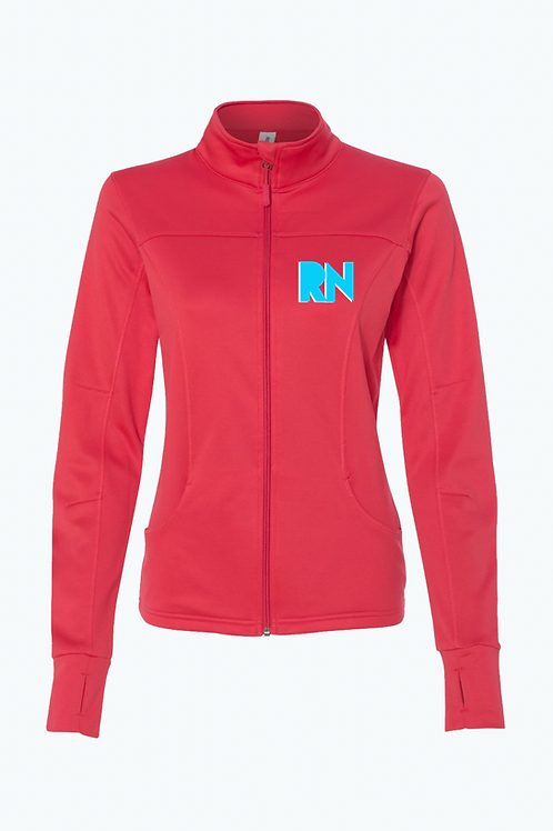 New Coral RN women's jacket