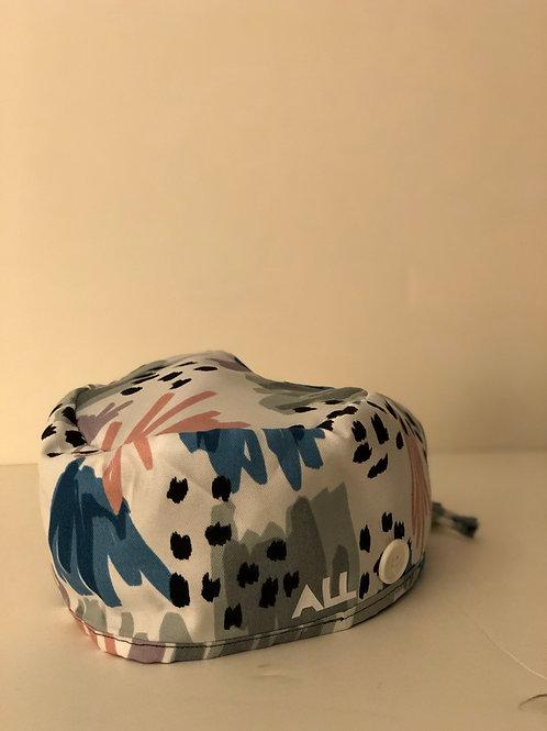 Pattern Scrub Cap