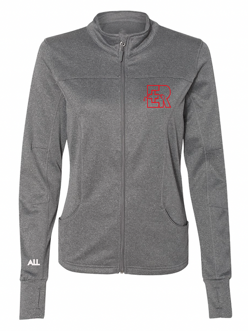 New ER grey collared Women's jacket
