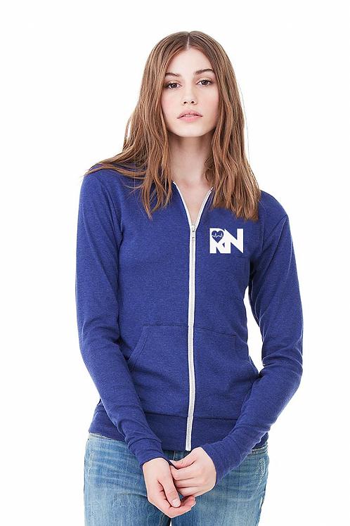 RN Love Heal royal blue hoodie