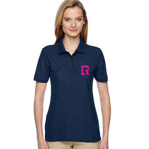 ER Navy Women's Polo