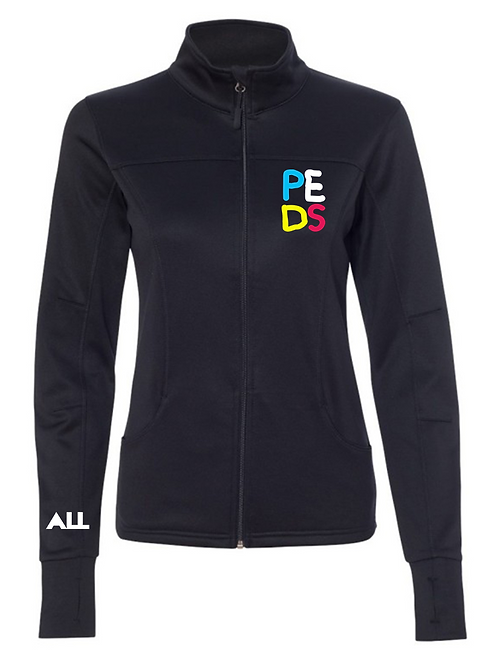 Peds ER women's collared jacket