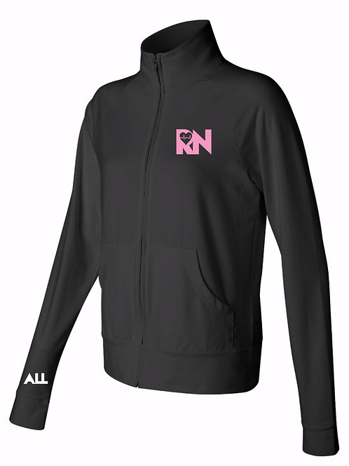 RN Love women's collard jacket