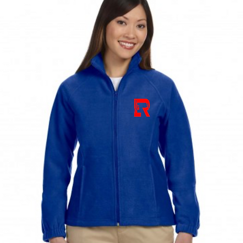 ER Women's blue fleece jacket