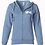 Thumbnail: New Hope women's Lightweight Misty blue Hoodie