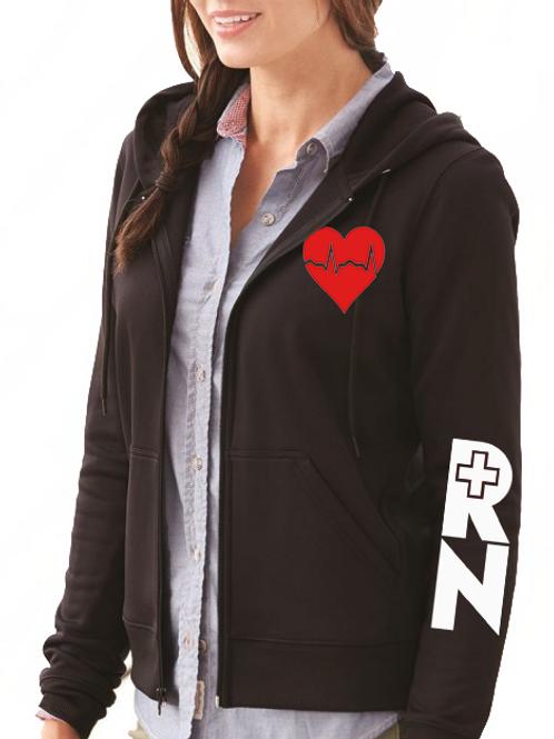 EKG women's hoodie