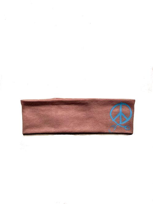 Peach Peace headband