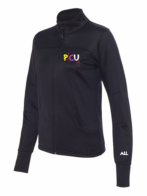 New PICU Women's collared jacket