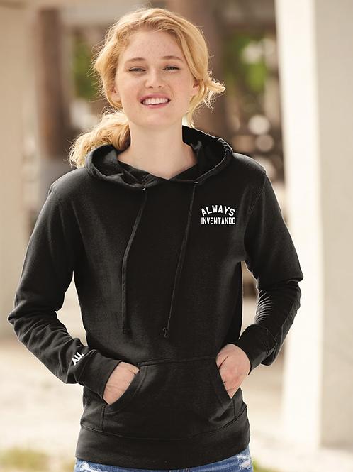 Always Inventado Women's Lightweight Hooded Sweatshirt