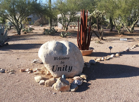 Virtual Thanks to Unity of Tucson!