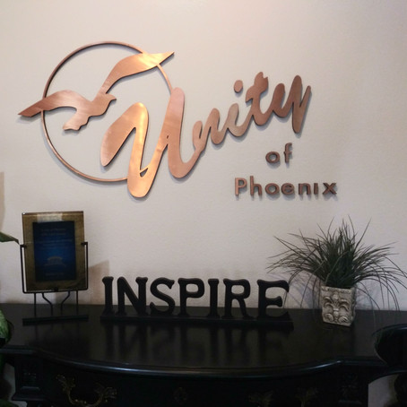 See you at Unity of Phoenix tonight!