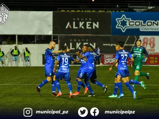 Municipal Pérez Zeledón comenzó el torneo con un empate en casa
