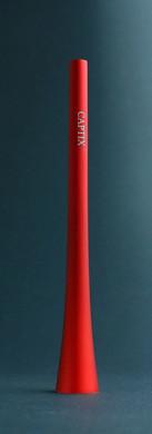 Kerzenlöscher - rot mit Namensschriftzug