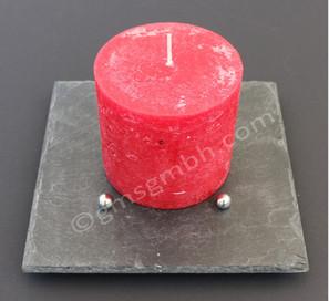 Lapis QB 20 x 20 mit roter Kerze