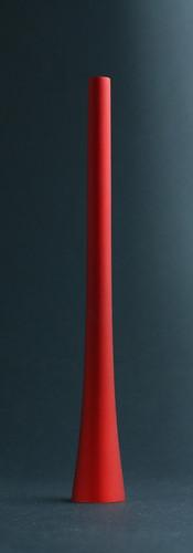 Kerzenlöscher - matt rot
