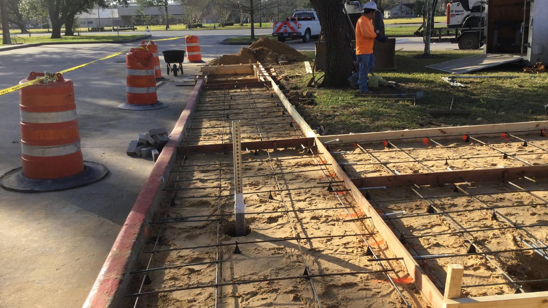 A-1 Construction Services Dickinson Bus Stop 2