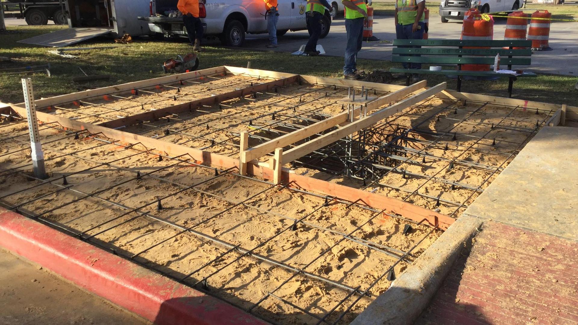 A-1 Construction Services Dickinson Bus Stop 4