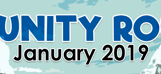 COMMUNITY ROUNDUP • January 2019 (#1)
