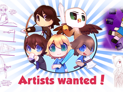 Artists Wanted!