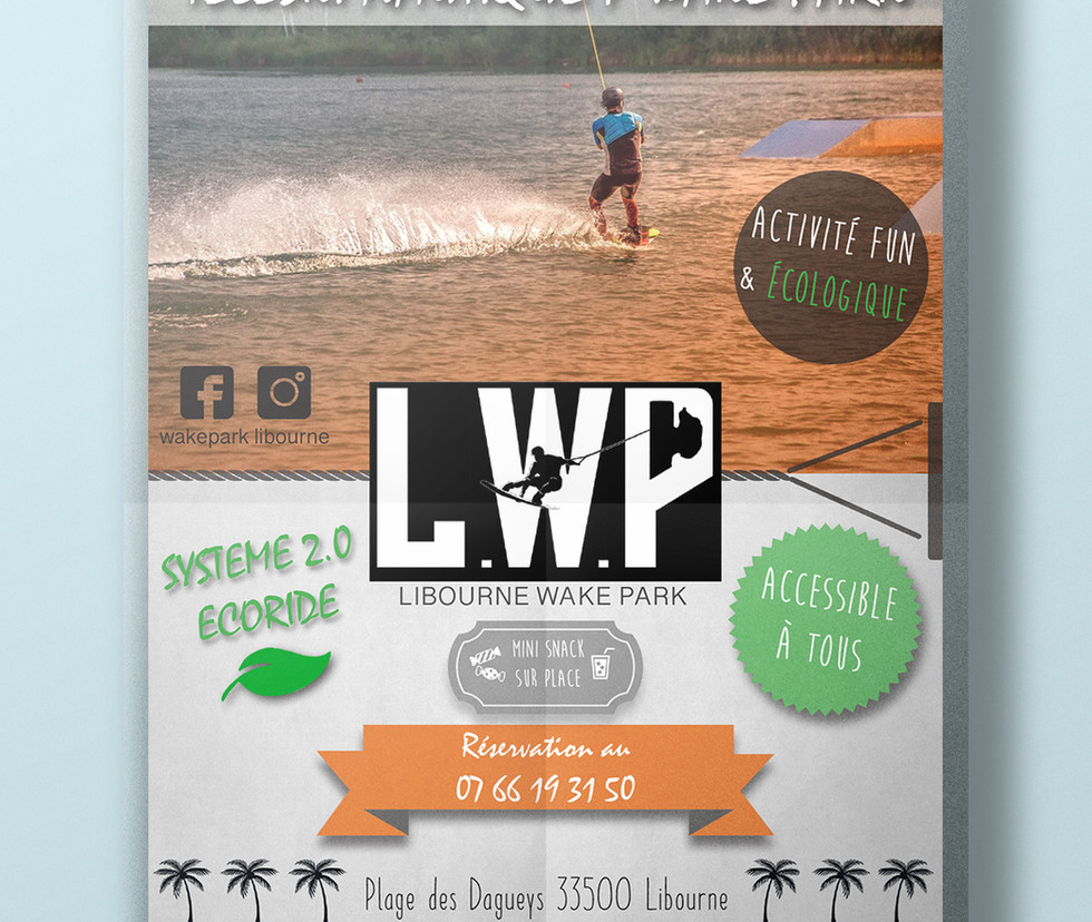 Ouverture Libourne Wake Park