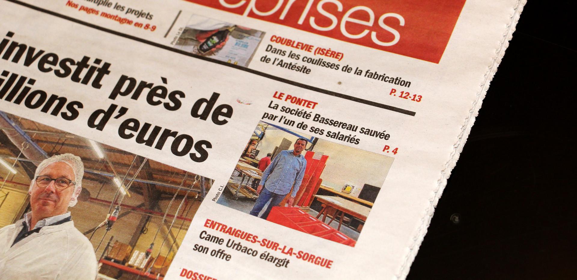 1er de couverture Vaucluse matin