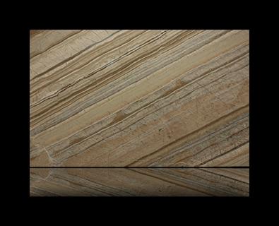 Countertop manufactured with Beige Quartzite