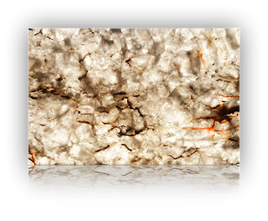 Countertop manufactured with White Quartzite