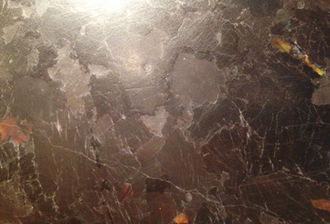 VENETIAN STONE WORKS CUSTOM ANTIQUE LEATHER COUNTERTOP FINISH