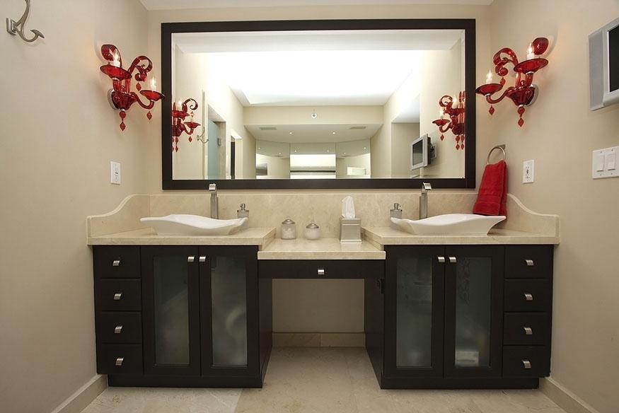 Hospitality marble vanity