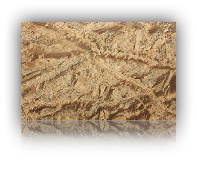 Countertop manufactured with Yellow Granite