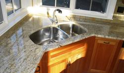 kitchen frankie sink, grohe spigot