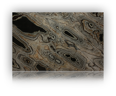Countertop manufactured with Blue Quartzite