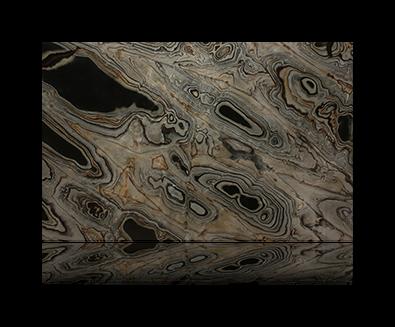 Countertop manufactured with Blue Quartzite