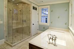 Bath slab undermount tub