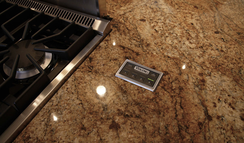 kitchen pop-up downdraft remote