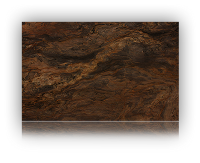 Countertop manufactured with Brown Quartzite