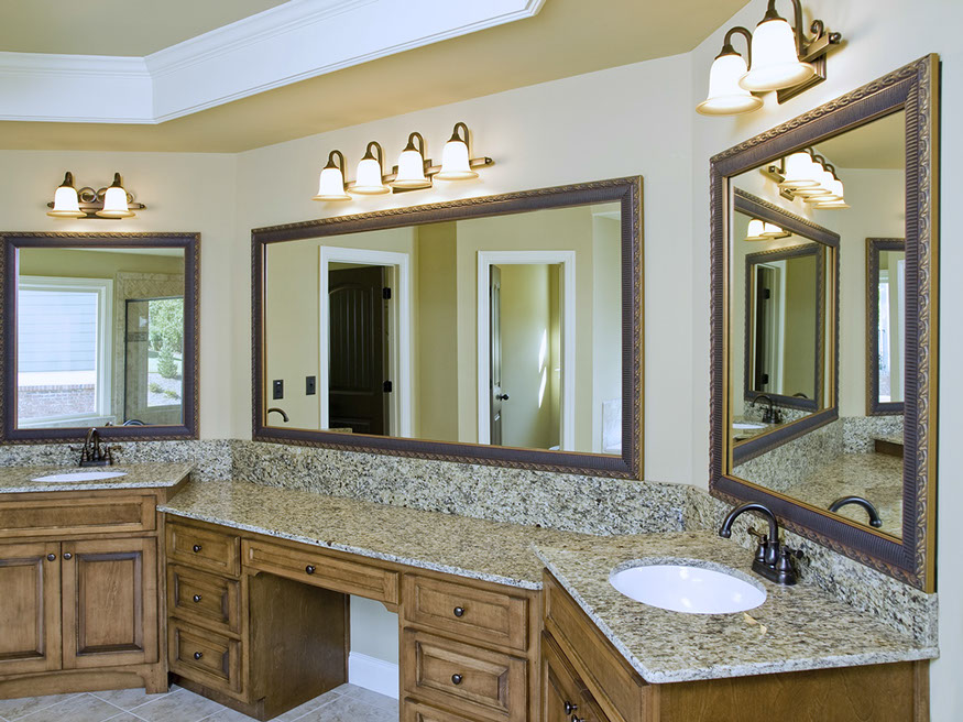 Bath granite master bath